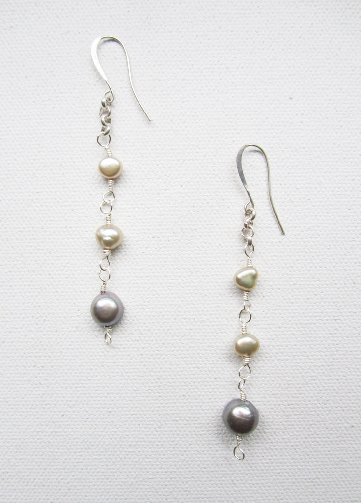Brie - Freshwater Pearl Earrings Free Shipping