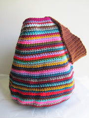Carson - Crochet Multi-Color Handbag Purse Free Shipping
