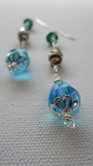 Countess - Swarovski Crystal/Faceted Glass Earrings Free Shipping