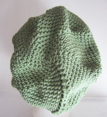 Dawn - Light Green Knitted Beanie/Hat Free Shipping