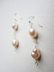 Fraiche - Freshwater Pearl Earrings Free Shipping