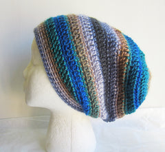 Hope - Multicolor Crochet Hat Free Shipping