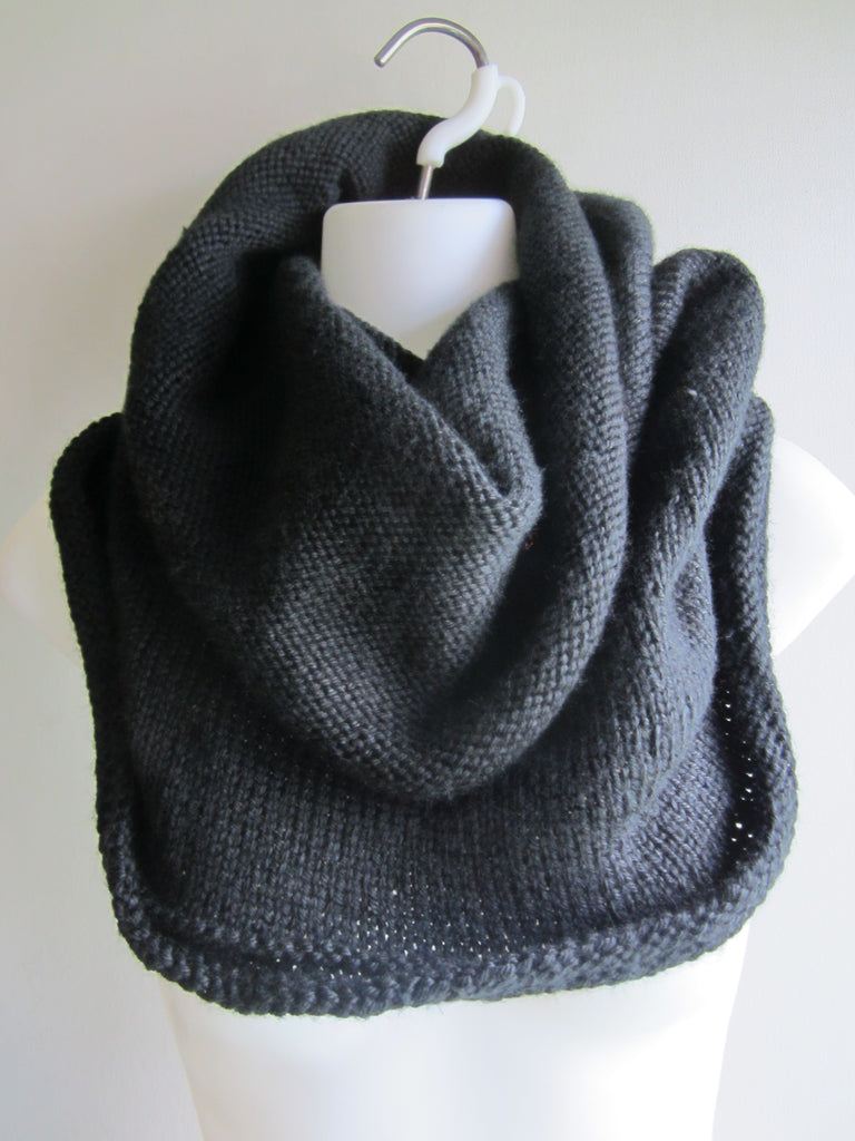 Caressa - Black Infinity Scarf Free Shipping
