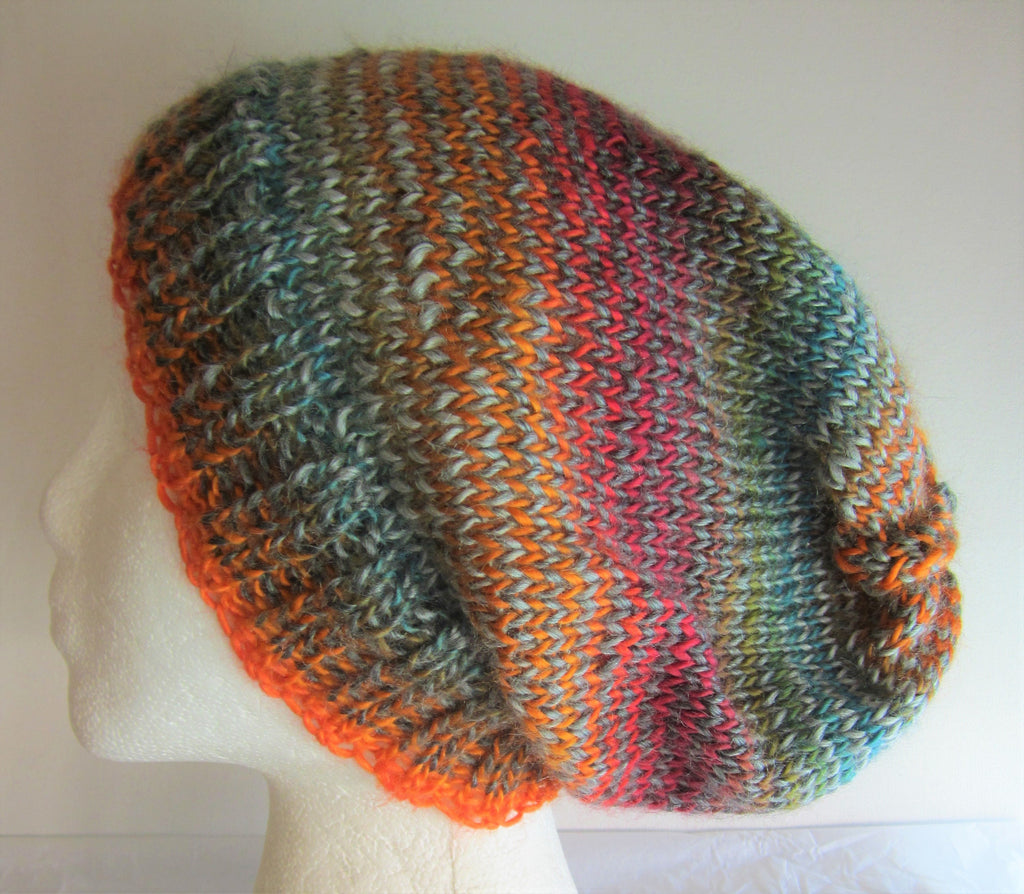 Serene - Multi-Color Knit Beanie Hat Free Shipping