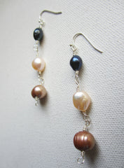Ingram - Freshwater Pearl Earrings Free Shipping