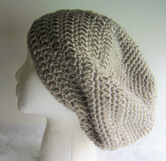 Janet - Cream/Champagne Crochet Hat Free Shipping