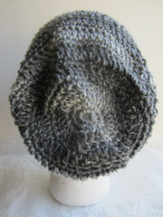 Kinsley - Grey Mix Crochet Hat Free Shipping