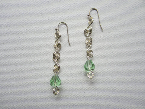 Marla - Faceted Glass Earrings Free Shipping
