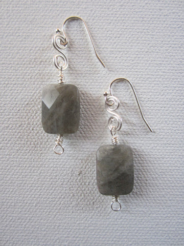 Nancy - Labradorite Earrings Free Shipping