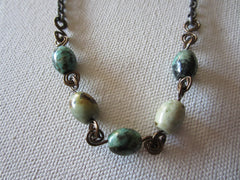 Optimist - African Turquoise Necklace Free Shipping