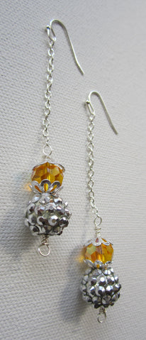 Perform - Glass Drop Earrings Free Shipping