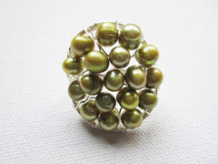 Princesse - Pearl Statement Ring Free Shipping