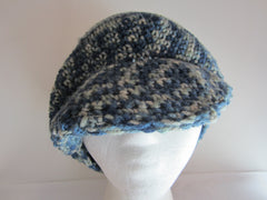 Robin - Blue Multi-Color Knitted Hat Free Shipping