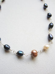 Shawn -Freshwater Pearl Necklace Free Shipping