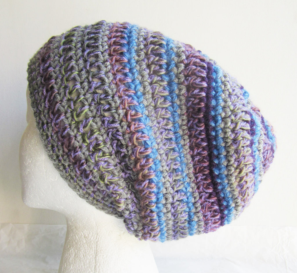 Shepard - Multi-Color Crochet Beanie Hat Free Shipping