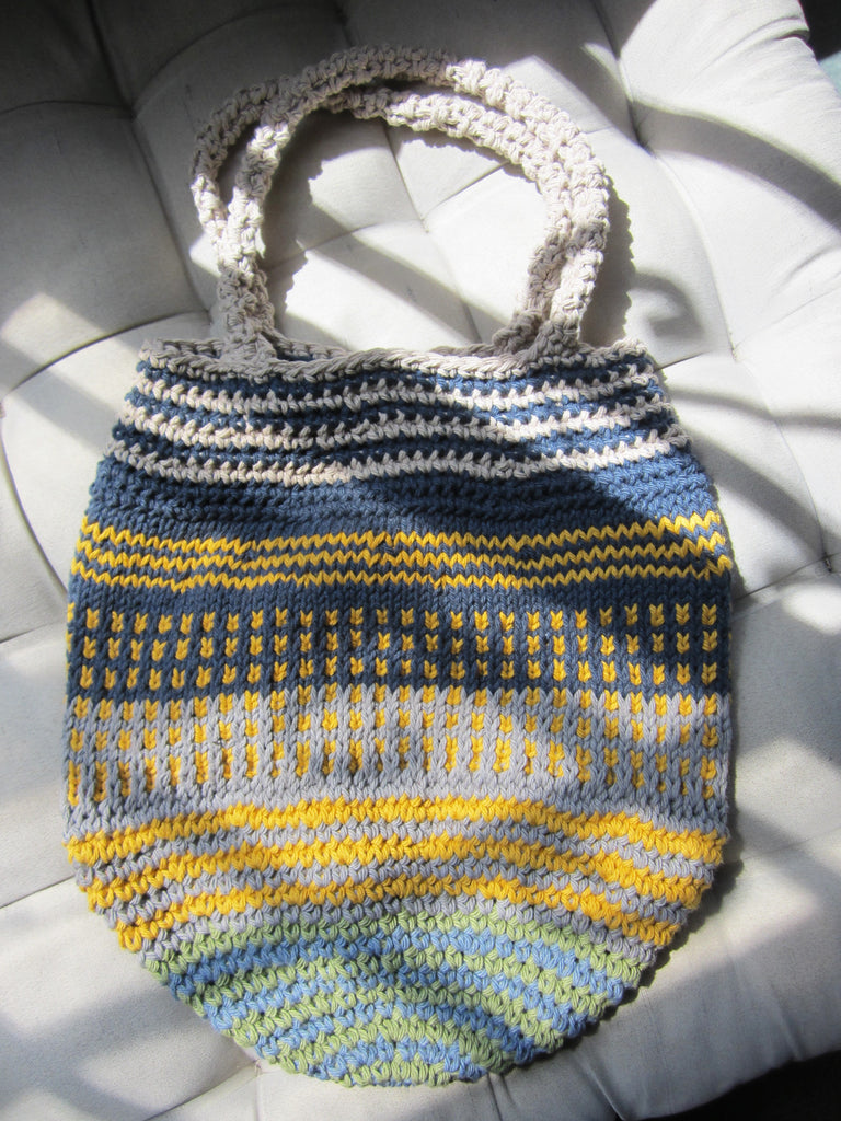 Ticia - Multicolor Crochet Handbag Purse Free Shipping