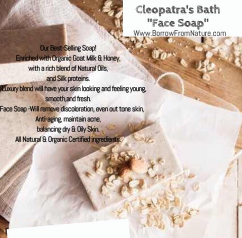 Cleopatra Bath #1 Best Seller - Borrow from Nature