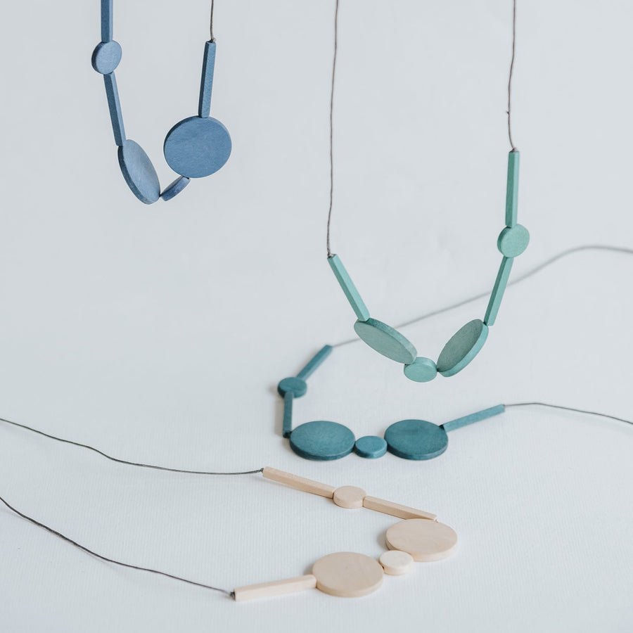 Mia Series 3 Necklace / Blue