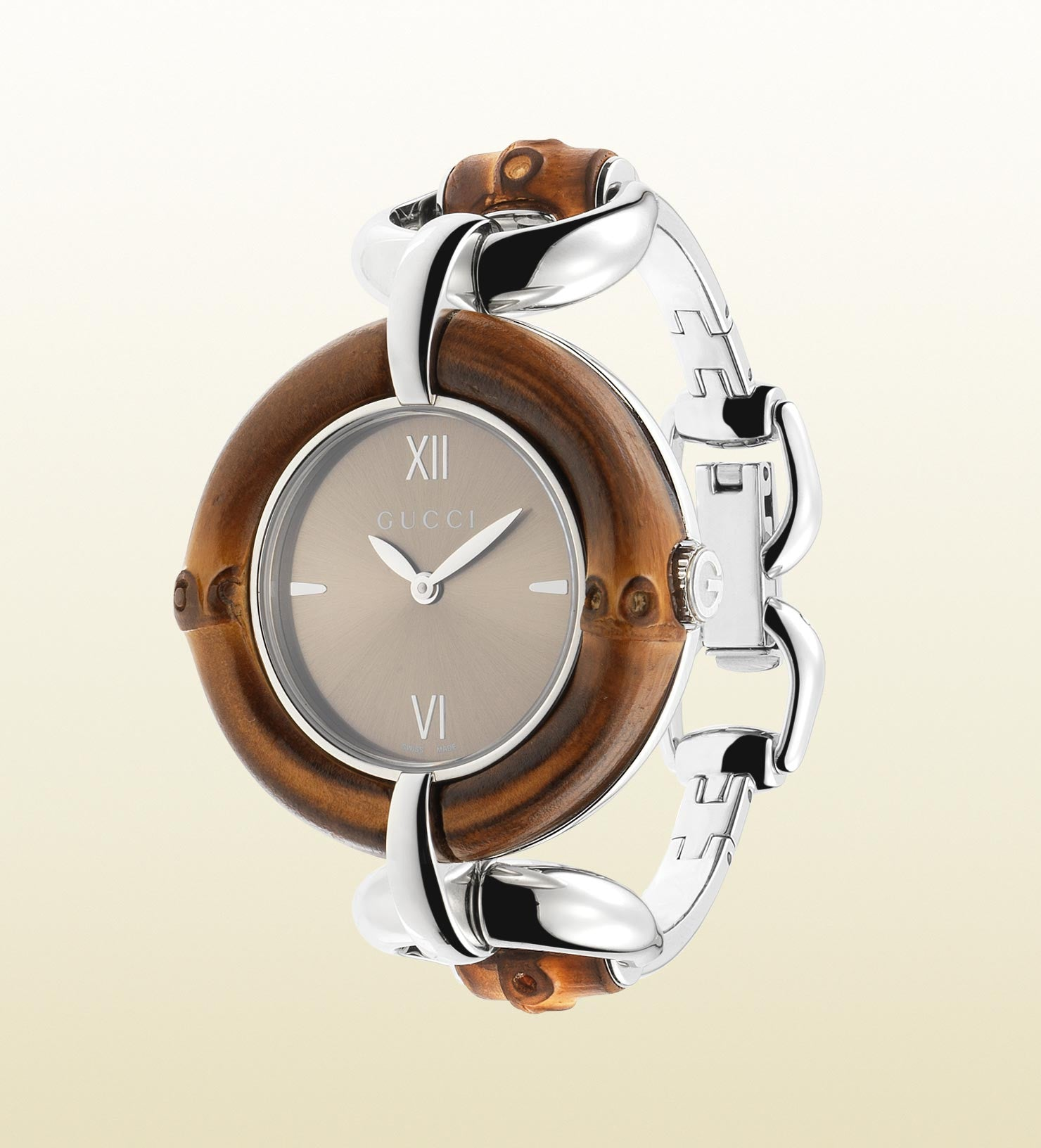 Gucci Bamboo Stainless Steel YA132402 (35mm)