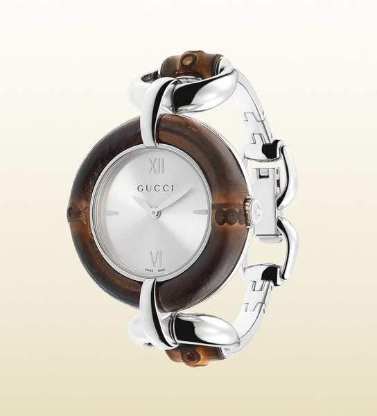 Gucci Bamboo Stainless Steel YA132403 (35mm)