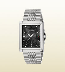 Gucci G-Timeless Medium Stainless Steel Rectangle YA138401 (32mm)