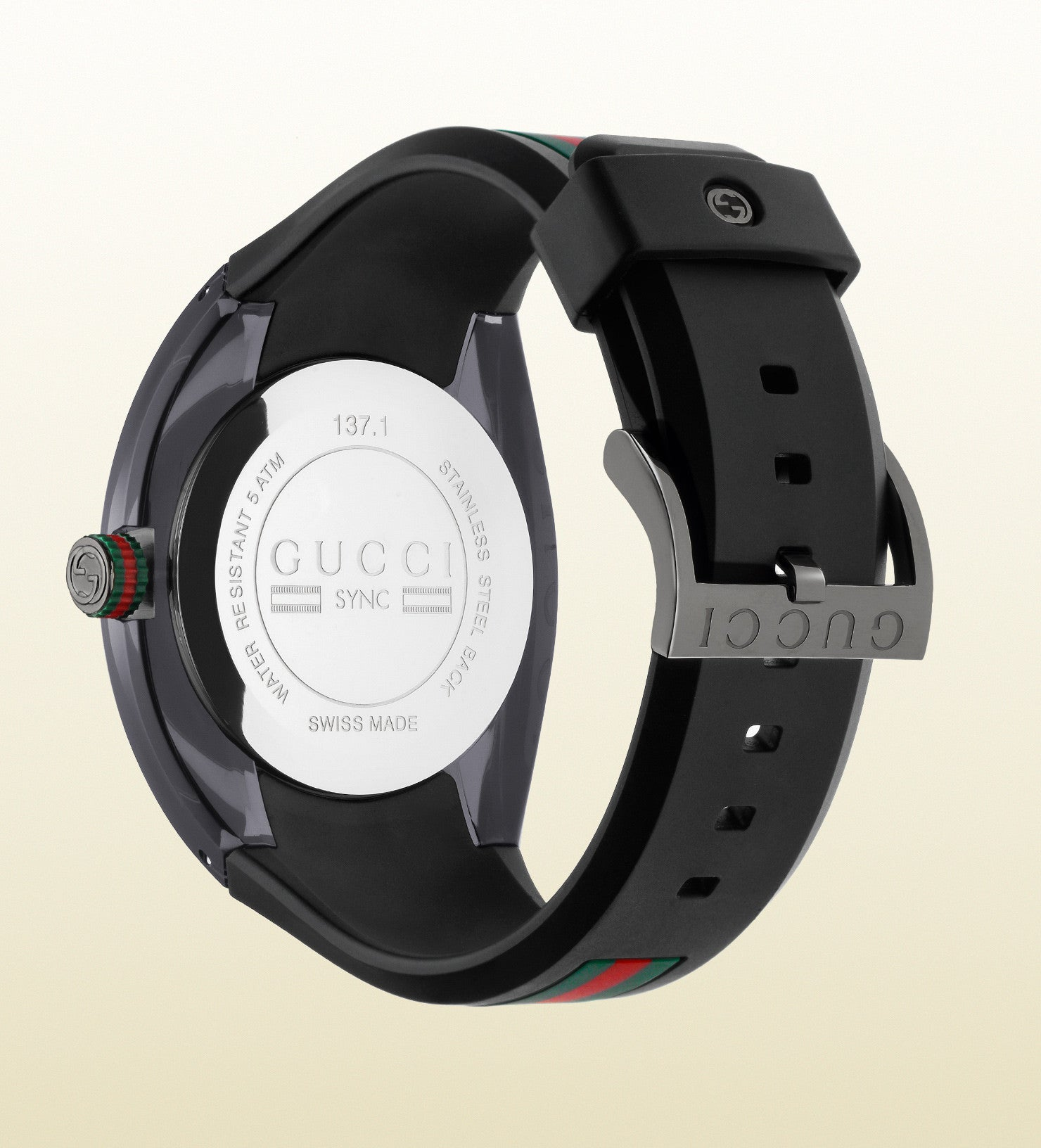 1b0288ba343 ... Gucci Gucci Sync Online Exclusive YA137107 Extra Large (46mm) ...