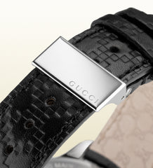 Gucci G-Timeless Medium Stainless Steel and Leather YA126430 (38mm)