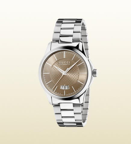 Gucci G-Timeless Medium Slim Stainless Steel YA126431 (38mm)