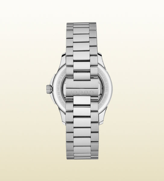 Gucci G-Timeless Medium Slim Stainless Steel YA126432 (38mm)