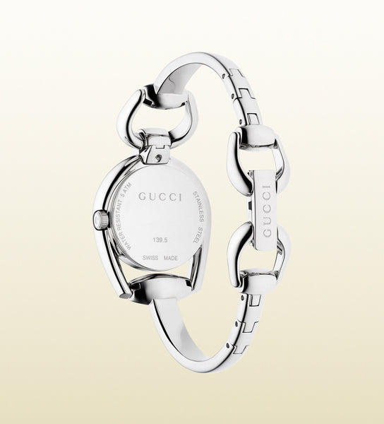 Gucci Diamond Horsebit Bracelet Small YA139506 (28mm)