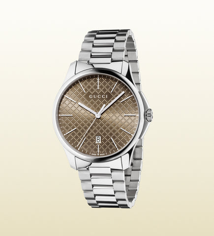 Gucci G-Timeless Large Slim Stainless Steel YA126317 (40mm)