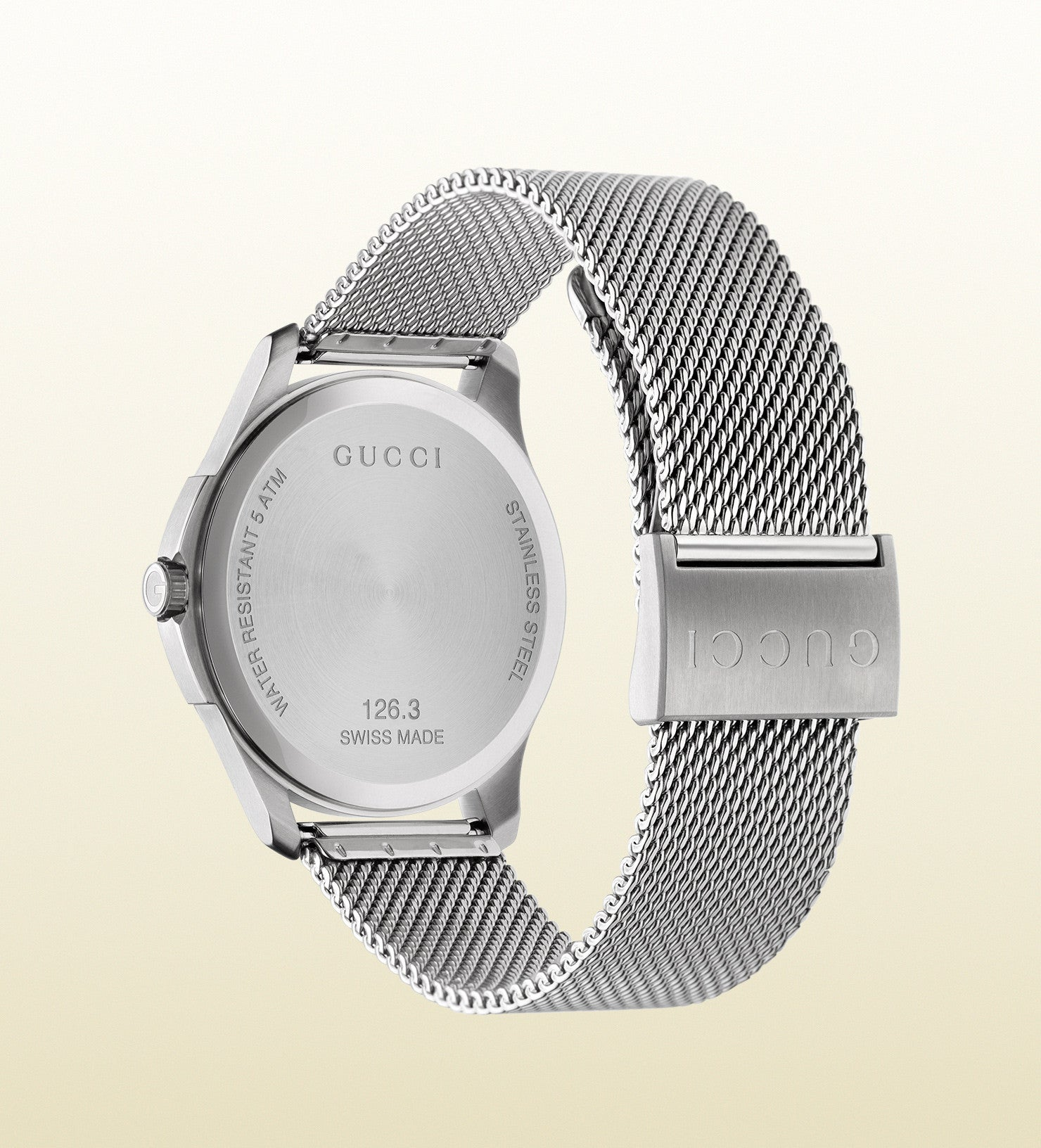 3e741a48cf5 Gucci G-Timeless Large Stainless Steel YA126315 (40mm) – Market ...