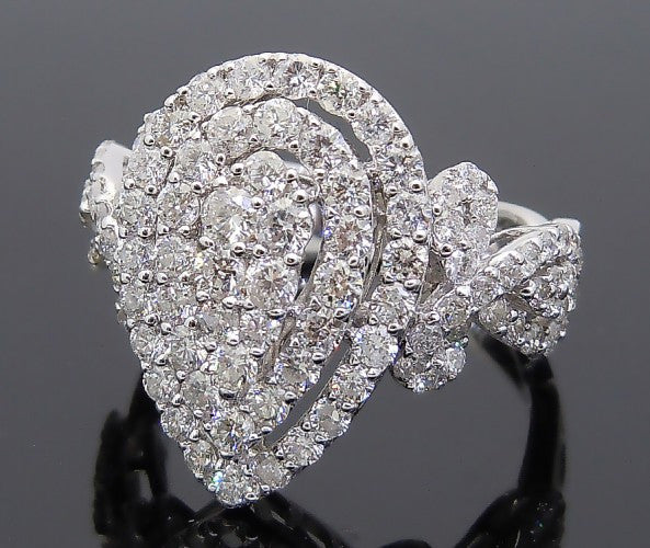 18k White Gold 2ct Diamond Ring
