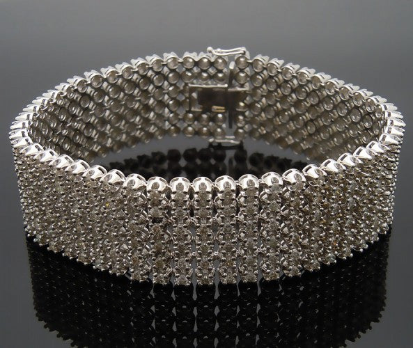 14k White Gold 14ct Diamond bracelet