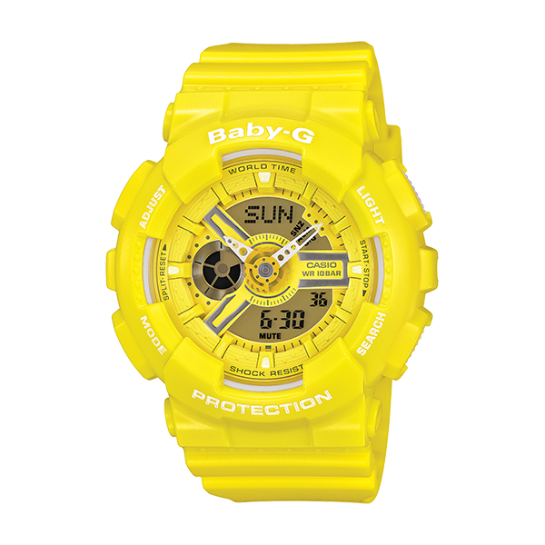 Casio Baby-G YELLOW BA110BC-9A