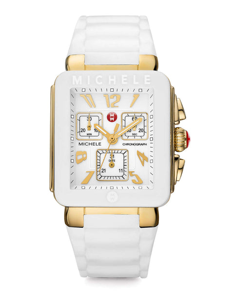 Park Jelly Bean, Gold Tone White Watch MWW06L000013 (35.5mm)