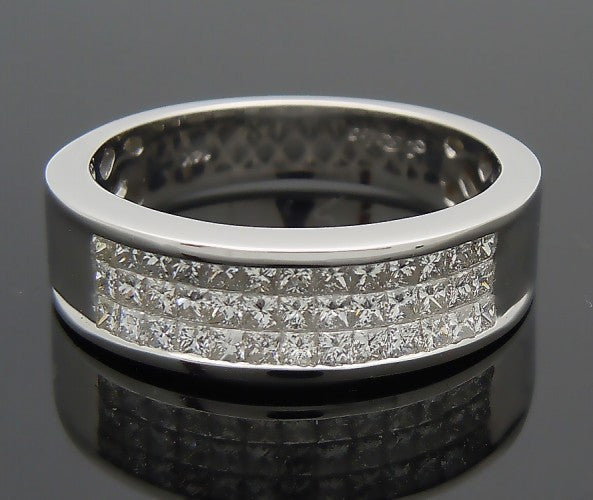 14k White Gold 2ct Diamond Ring