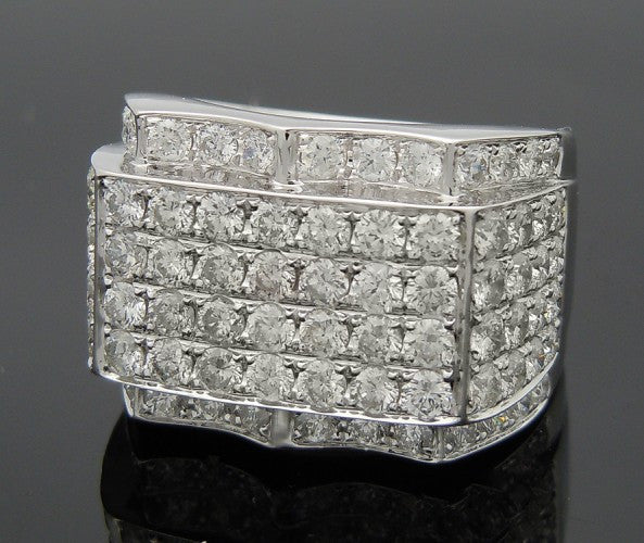 14k White Gold 5ct Diamond Ring