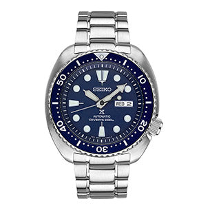PROSPEX MEN'S AUTOMATIC STAINLESS STEEL DIVER WATCH SRP773