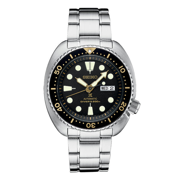 PROSPEX MEN'S AUTOMATIC STAINLESS STEEL DIVER WATCH SRP775