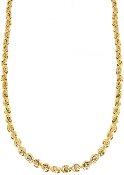 10k Yellow Gold Bullet Chain