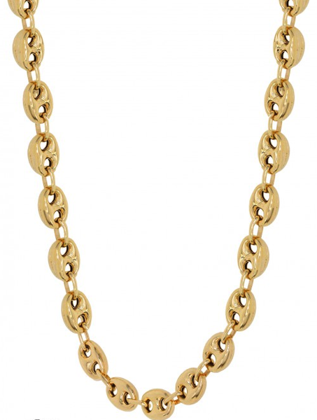 10k Yellow Gold Fancy Chain