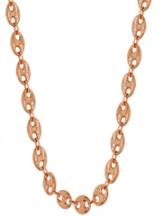10k Rose Gold Fancy Chain