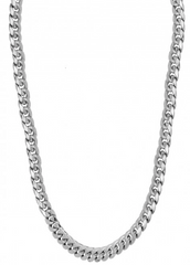 10k White Gold Cuban Miami Cuban Chain