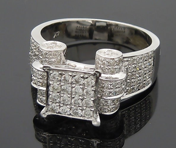 14k White Gold 1ct Diamond Ring