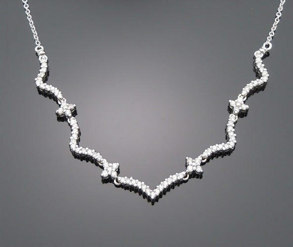 white pendants gold black diamond necklace pin