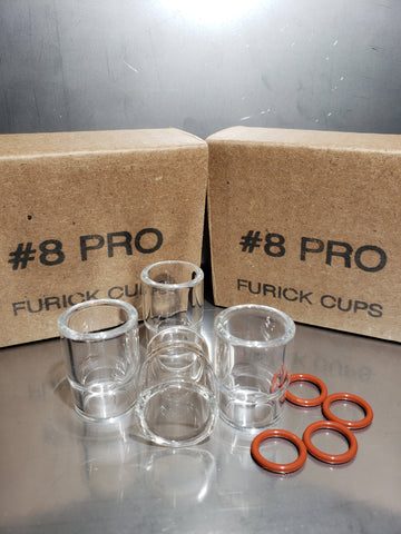 FURICK #8 PRO 4 PACK PYREX CUPS