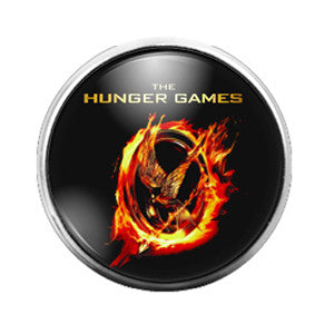 Hunger Games - 18MM Glass Dome Candy Snap Charm GD0381