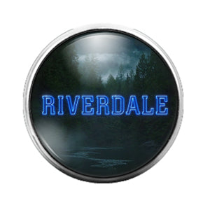 Riverdale - 18MM Glass Dome Candy Snap Charm GD0518
