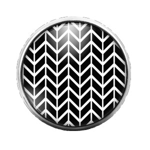 Pattern - 18MM Glass Dome Candy Snap Charm GD0545